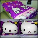 Balmut Hello Kitty angel Ungu