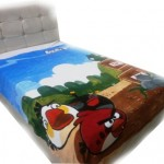 Selimut  platinum   Angry bird Dynamite