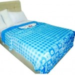 Selimut Platinum Doraemon blue box